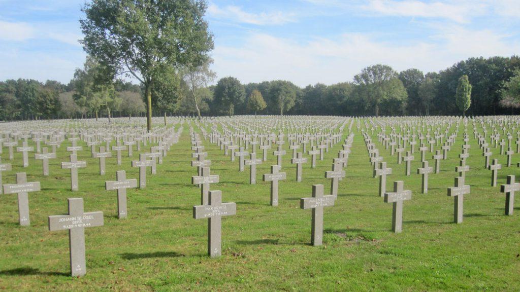 Duitse oorlogsbegraafplaats in Ysselsteyn
